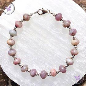 Lepidolite & Silver Bracelet